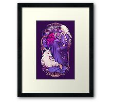 Am I Truly the Last Framed Print