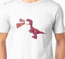 Cute Motivational Baby T-Rex, ROAR! Unisex T-Shirt
