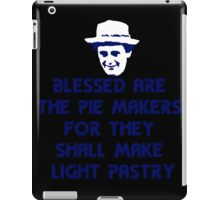 Blessed are the Pie Makers iPad Case/Skin