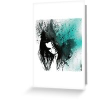 This Confession Means Nothing: Turquoise Greeting Card
