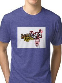 AVGN Cartoon Tri-blend T-Shirt