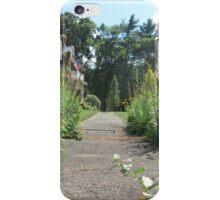 Front Door Path iPhone Case/Skin