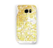 USGS TOPO Map Arkansas AR Bethesda 257988 1942 24000 Samsung Galaxy Case/Skin