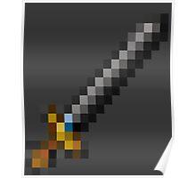 Pixel Sword  Poster