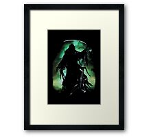 Grim Rocker Framed Print