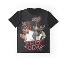FREE KODAK BLACK VINTAGE RAP TOUR SHIRT Graphic T-Shirt
