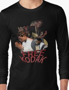 FREE KODAK BLACK VINTAGE RAP TOUR SHIRT Long Sleeve T-Shirt