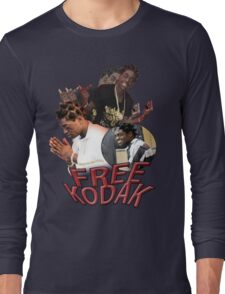 FREE KODAK BLACK VINTAGE RAP TOUR SHIRT Long Sleeve T-Shirt