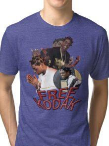 FREE KODAK BLACK VINTAGE RAP TOUR SHIRT Tri-blend T-Shirt