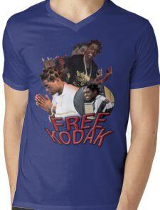 FREE KODAK BLACK VINTAGE RAP TOUR SHIRT Mens V-Neck T-Shirt