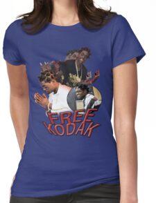 FREE KODAK BLACK VINTAGE RAP TOUR SHIRT Womens Fitted T-Shirt