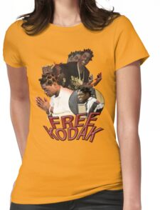 FREE KODAK BLACK VINTAGE RAP TOUR SHIRT Womens Fitted T-Shirt
