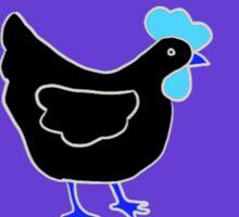 Below Zero Chicken Sticker