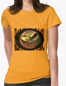 An Unequal Orange Womens Fitted T-Shirt