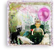 The King of Everything Canvas Print