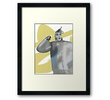 1 Tin Man in search of 1 Heart Framed Print
