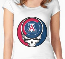 The Dead in Tucson Women's Fitted Scoop T-Shirt