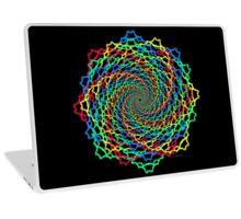 Fractal Colorful Web Laptop Skin