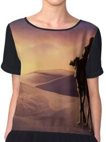 desert sunset Chiffon Top