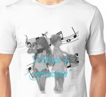 Music is Freedom Unisex T-Shirt