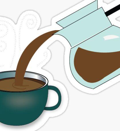 Coffee Sticker  Sticker