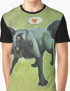 Tomu the Silver Fox (green) Graphic T-Shirt