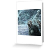 The Frost Giants Summon Fimbulvinter Greeting Card