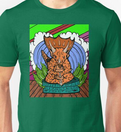 Transcending Triceratops  Unisex T-Shirt