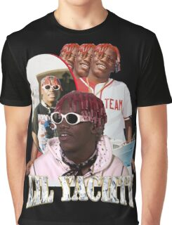 LIL YACHTY VINTAGE RAP TOUR SHIRT Graphic T-Shirt
