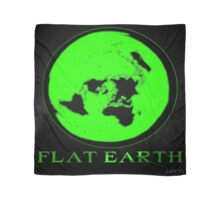 Flat Earth GREEN Scarf