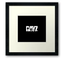 DayZ: Title - White Ink Framed Print