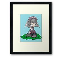 Melia Xenoblade Framed Print