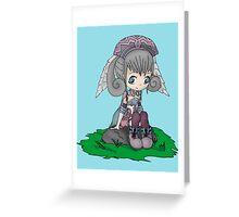 Melia Xenoblade Greeting Card