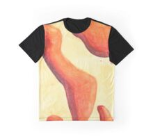 Abstract Lava Lamp Graphic T-Shirt