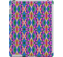 Groovy Psychedelic Diamond Pattern Abstract iPad Case/Skin