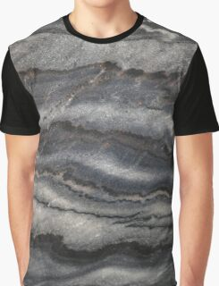 Black Marble Graphic T-Shirt