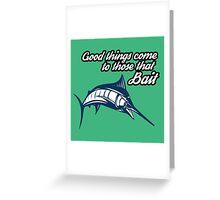 Big Fish Greeting Card
