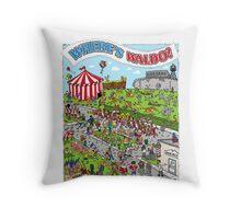 Where's Waldo Throw Pillow