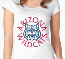 University of Arizona Wildcats Women's Fitted Scoop T-Shirt