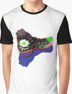 Dragon Shoe Graphic T-Shirt