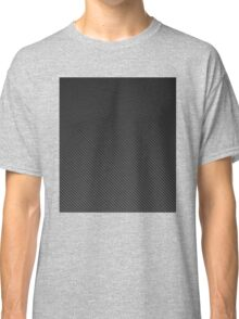 Black Carbon Fiber iPhone Case  Classic T-Shirt