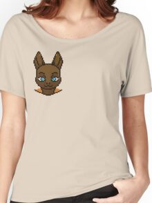 Cute Kangaroo Pixel Art Women's Relaxed Fit T-Shirt