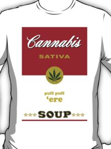 Cannabis Sativa Soup T-Shirt