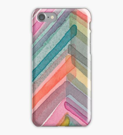 Watercolor Chevron iPhone Case/Skin