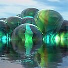 Liquid Refractions V by Hugh Fathers