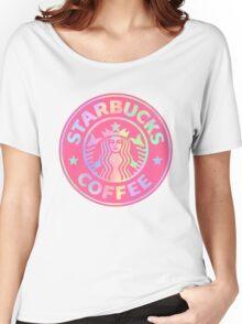 Starbucks logo revamped  Women's Relaxed Fit T-Shirt