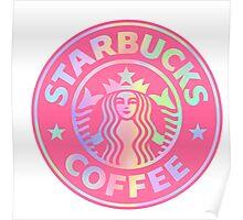 Starbucks logo revamped  Poster