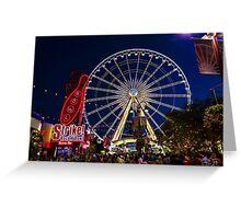 Niagara Falls Ferris Wheel Greeting Card