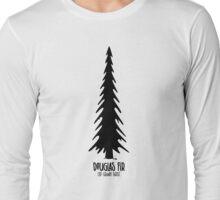 Douglas Fir - Old Growth Forest Long Sleeve T-Shirt