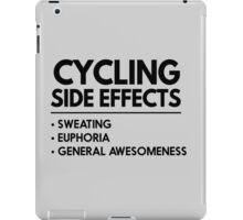 Cycling Side Effects iPad Case/Skin
